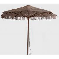 Ομπρέλα ξύλινη πλεχτή φ2.50