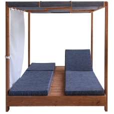 DAYBED WOOD WITH RECOVERY CHERRY TYPE 2